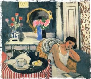 Matisse woman-reading